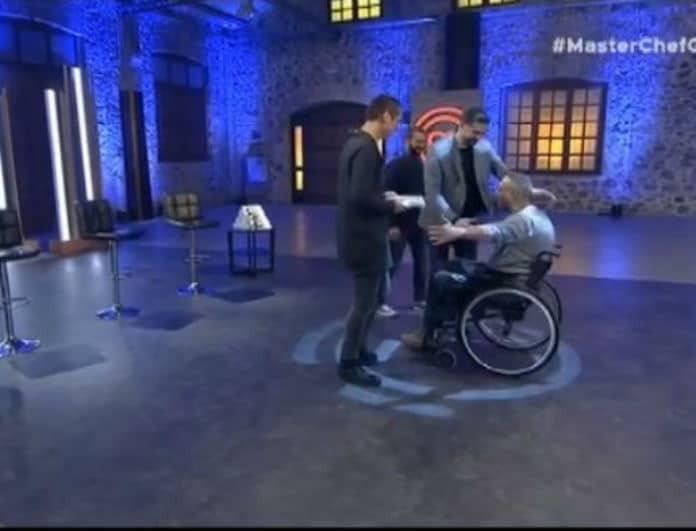 Master Chef 3: Η συγκινητική αγκαλιά των κριτών σε διαγωνιζόμενο με αναπηρία! (βίντεο)