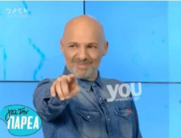 Νίκος Μουτσινάς: Προκάλεσε on air την Μέγκι Ντριο! «Προκαλώ την Μέγκι να...»! (Βίντεο)