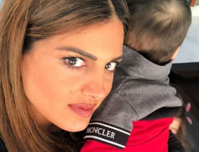 Σταματίνα Τσιμτσιλή: Τρυφερές στιγμές με τον γιο της!