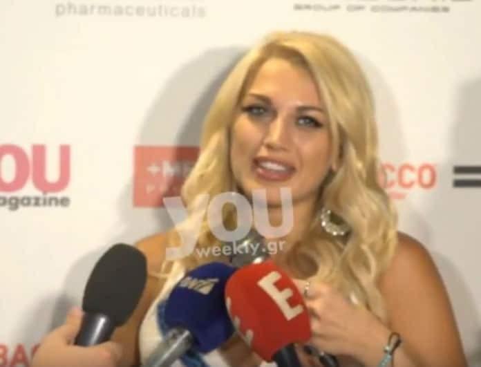 Κωνσταντίνα Σπυροπούλου: Μιλά ανοιχτά για τη σχέση της με τον Ατζούν Ιλιτζαλί!