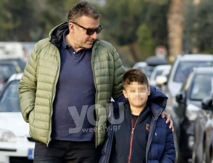 Γιώργος Λιάγκας: Αχώριστος με τον γιο του! Που βρέθηκε με τον μικρό Γιάννη!