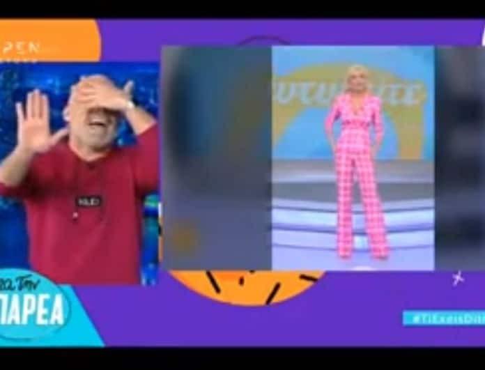 Νίκος Μουτσινάς: Τα επικά σχόλια για την εμφάνιση της Καινούργιου! «Πόνεσαν τα μάτια μου»! (Βίντεο)