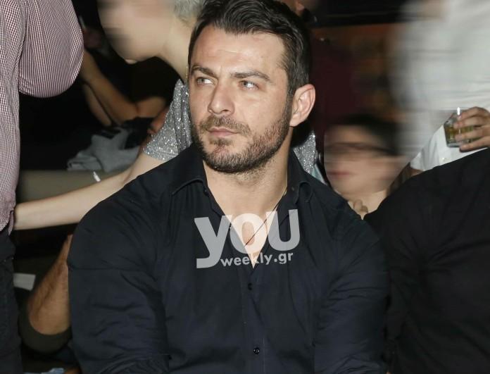 Γιώργος Αγγελόπουλος: Η βραδινή έξοδος της Κυριακής! Δείτε που και με ποιον τα... έσπασε!