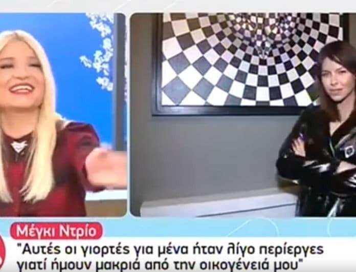 Πόλεμος στο Πρωινό για την Μέγκι: «Πώς είναι δυνατόν η νεολαία της Ελλάδας να έχει κάνει 25 fan club για την Ντρίο;» (Βίντεο)