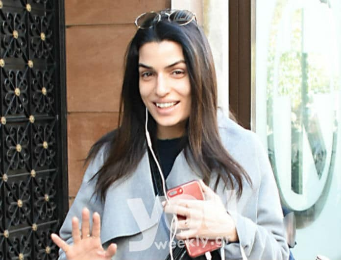 Τόνια Σωτηροπούλου: Το απίστευτο παλτό της το βρήκαμε στα H&M!