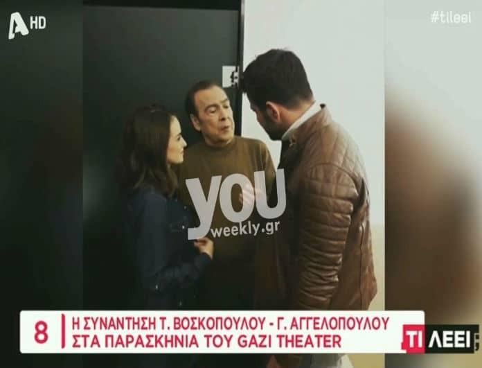 Γιώργος Αγγελόπουλος: Παρέδωσε μαθήματα - Η συγκινητική κίνηση του στον Τόλη Βοσκόπουλο! (Βίντεο)