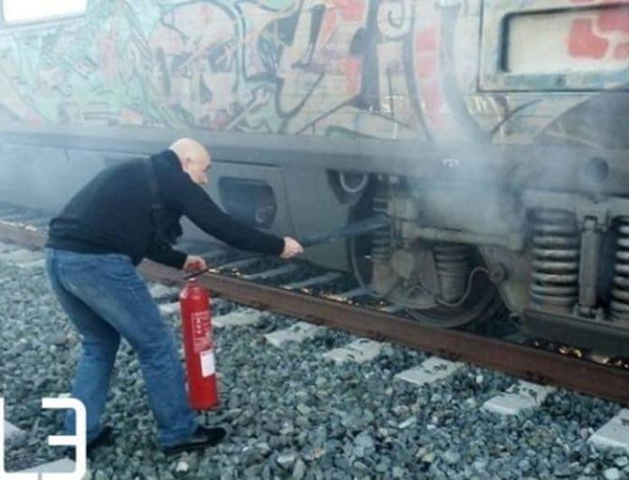 Φωτιά σε τρένο της γραμμής Θεσσαλονίκη-Αθήνα! Τι αναφέρουν οι πρώτες πληροφορίες!