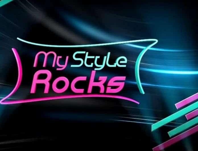 Μόνο με τα εσώρουχά της κορυφαία παίκτρια του My style rocks!