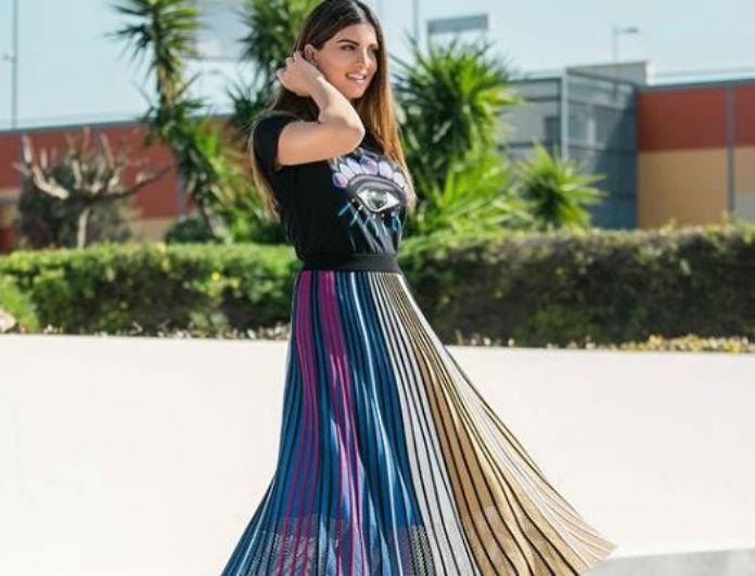 49f0ecd3dcb Σταματίνα Τσιμτσιλή: Τα Zara πέδιλα της που συνδυάζονται με τα πάντα και  κοστίζουν κάτω από 50 ευρώ! - COPY THE LOOK - Youweekly