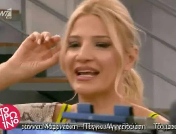 Φαίη Σκορδά: Αποχώρησε από το πλατό πριν τελειώσει η εκπομπή! Τι συνέβη;