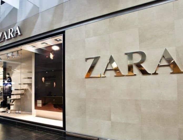 Zara: Το mini μαύρο φόρεμα με την πιο hot τάση της σεζόν! Θα μαγνητίσει τα βλέμματα!