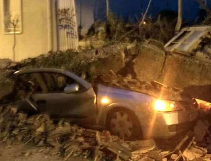 Απίστευτο: Κατέρρευσε εγκαταλελειμμένο κτίριο στο κέντρο της Αθήνας! (σοκαριστικές εικόνες)
