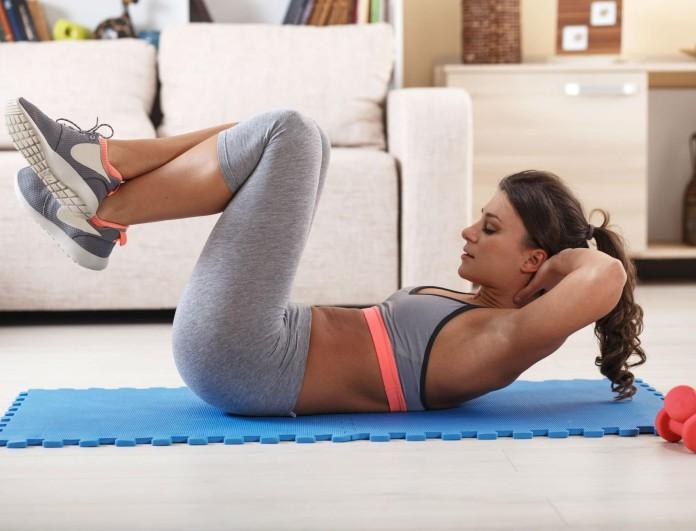 Γυμναστική στο σπίτι; 4+1 μυστικά για να χτίσεις το τέλειο σώμα..