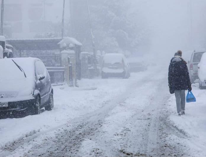 "H κακοκαιρία ""Ωκεάνις"" θα χτυπήσει σήμερα την χώρα! Χιόνια, κρύο και καταιγίδες!"