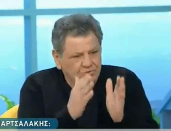Γιώργος Παρτσαλάκης: To απίστευτο ξέσπασμα για τον Μάρκο Σεφερλή - «Να μην τον ξαναδώ μπροστά μου...»!