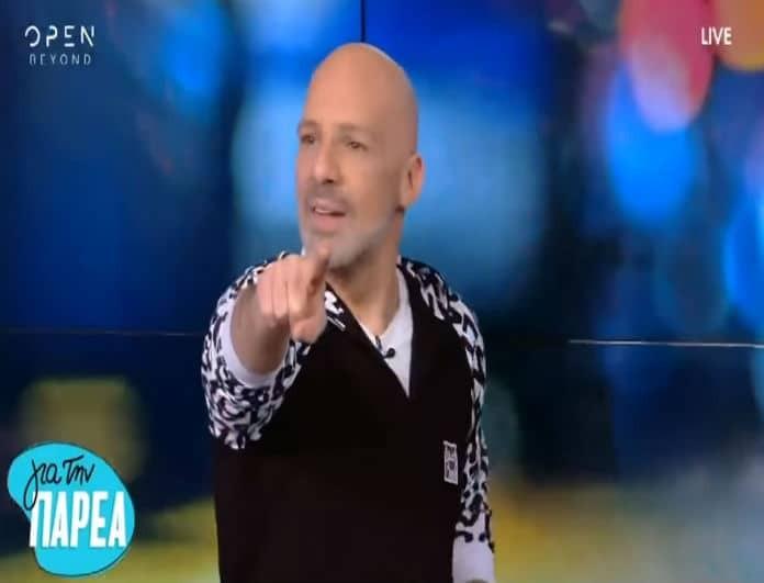 Νίκος Μουτσινάς: Η απίστευτη πρόκληση της Στέλλας Μπεζεντάκου και η αντίδρασή του! (Βίντεο)