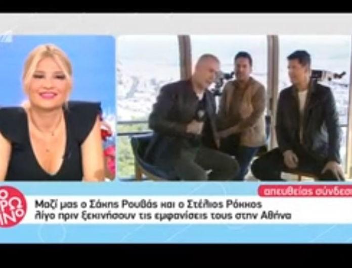 Σάκης Ρουβάς: Ζήτησε δημόσια συγγνώμη από τον Λάμθιμο! «Δεν είχα καταλάβει ότι...» (Βίντεο)