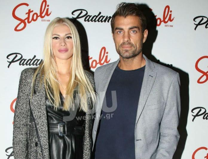 Στέλιος Χανταμπάκης - Όλγα Πηλιάκη: Βραδινή έξοδος για το ερωτευμένο ζευγάρι!