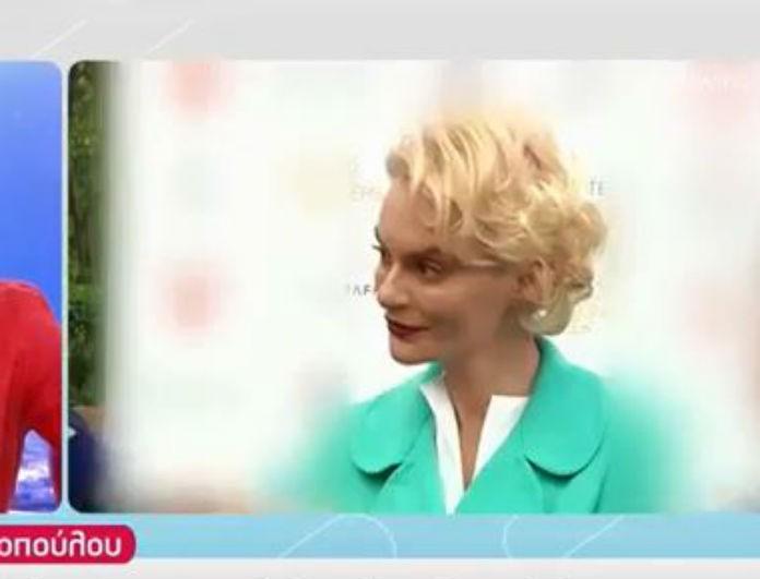 Έλενα Χριστοπούλου: Η απίστευτη ατάκα για την Ηλιάνα Παπαγεωργίου - «Όπου πηγαίνει έχει ένα...»! (Βίντεο)