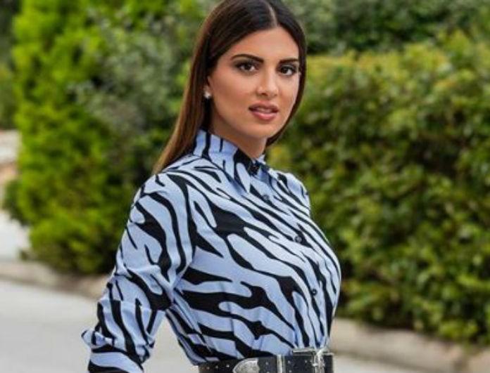 95edbe2305b7 Σταματίνα Τσιμτσιλή: Το midi φόρεμα που φόρεσε από τα Zara κρύβει τις  ατέλειες! - CELEBRITY STYLE - Youweekly
