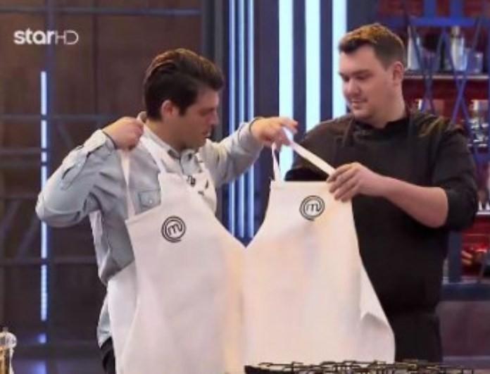 Μaster Chef: Απίστευτη δοκιμασία! Τους βάλανε μέσα σε... διπλή ποδιά! (βίντεο)