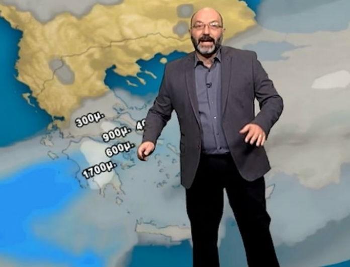 Έκτακτο δελτίο καιρού από τον Σάκη Αρναούτογλου!  «Θα χιονίσει στην...»