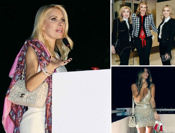 3129fe3863 Οι τσάντες και τα ρούχα Chanel των επώνυμων Ελληνίδων που κοστίζουν μια  περιουσία! - CELEBRITY STYLE - Youweekly