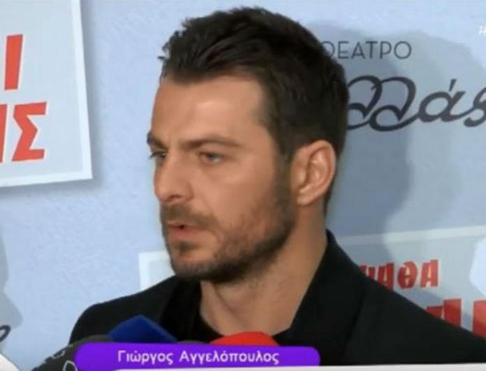 Γιώργος Αγγελόπουλος: Άφωνοι οι δημοσιογράφοι με την ατάκα του - «Ο καθένας έχει μία άποψη σαν τις κω…πίδες»!