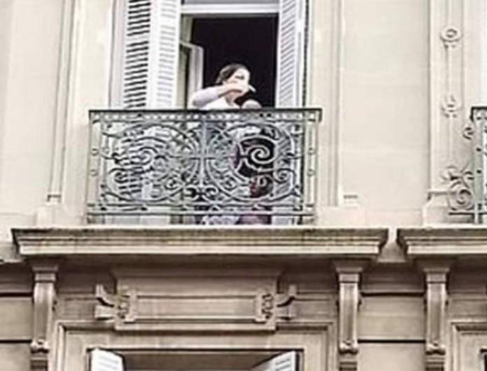 Συμβαίνει τώρα: Παγιδευμένη σε φλεγόμενο κτίριο μία μητέρα και το μωρό της! (βίντεο)