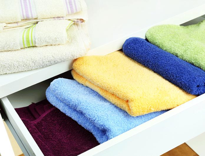 5+1 tips για να κάνετε τις πετσέτες σας απαλές και να μοσχοβολούν!