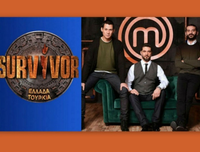 Τηλεθέαση  25/3: Τατουάζ - Master Chef - Survivor! Ποιος κέρδισε τους τηλεθεατές στο prime time!