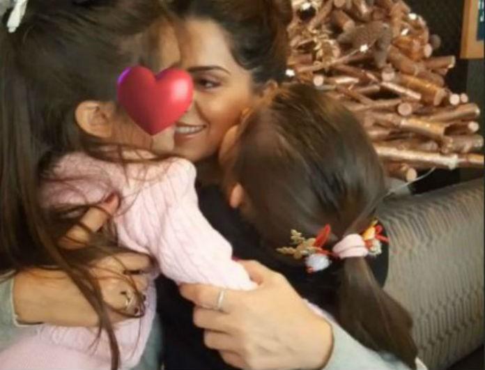 Σταματίνα Τσιμτσιλή: Παιχνίδια με τα παιδιά της στο σπίτι!
