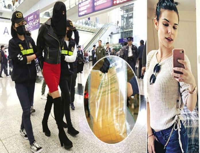 Ειρήνη Μελισσαροπούλου: H πρώτη φωτογραφία του μοντέλου με την κοκαΐνη ενάμιση χρόνο μετά τη σύλληψή της!