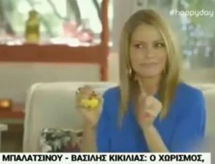 Τζένη Μπαλατσινού: Απίθανο! Όταν προξένευε τον Κικίλια στην κόρη της! (Βίντεο)
