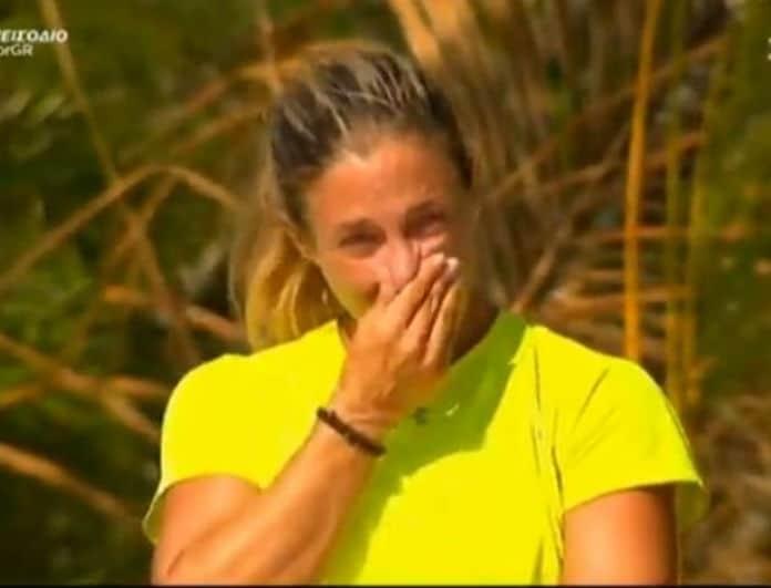 Survivor: Ξέσπασε σε κλάματα η Αφροδίτη! Τι είπε στον Γιώργο Λιανό; (βίντεο)