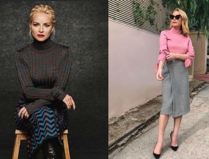 Τατιάνα Στεφανίδου VS Μαρία Μπεκατώρου: Φόρεσαν το ίδιο κίτρινο κοστούμι! Ποια σας αρέσει περισσότερο;