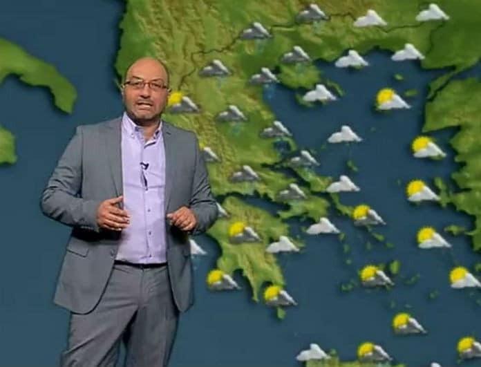 Σάκης Αρναούτογλου: Έκτακτο δελτίο καιρού για την Πρωτομαγιά! Έρχονται βροχές και καταιγίδες!