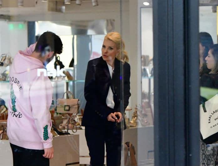 Ελένη Μενεγάκη - αποκλειστικό: Καυγάς με τον γιο της, Άγγελο Λάτσιο! Τα νεύρα και οι φωνές σε μαγαζί!