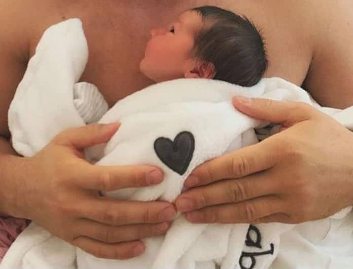 Baby boom! Γέννησε γνωστή Ελληνίδα! Η πρώτη φωτογραφία του μωρού!