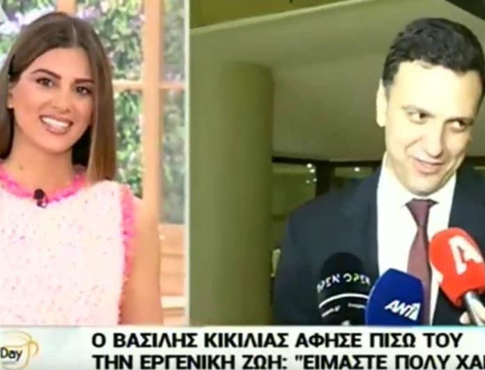 Βασίλης Κικίλιας: Οι νέες τρυφερές δηλώσεις για τον γάμο με την Μπαλατσινού! «Τέλος για εμένα η...»