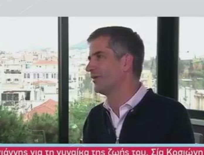 Κώστας Μπακογιάννης: Η τρυφερή εξομολόγηση για την Σία Κοσιώνη! «Είμαι πάρα πολύ τυχερός που...»!