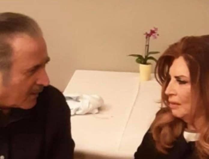 Λάκης Λαζόπουλος: Στο εστιατόριο με τη Μιμή Ντενίση! Οι φωτογραφίες-ντοκουμέντο!