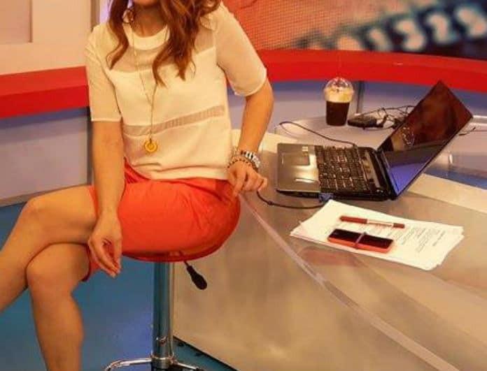 Ατύχημα σοκ για πασίγνωστη Ελληνίδα παρουσιάστρια! Έμεινε καθήμενη στο....