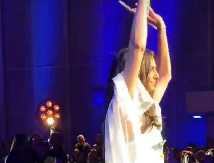 Ηλιάνα Παπαγεωργίου: Η εκρηκτική εμφάνιση στην σκηνή των Madwalk!