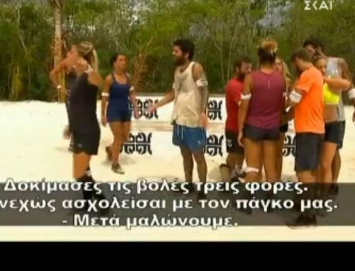 Survivor: Κόντεψαν να πιαστούν στα χέρια! «Τι θες και ασχολείσαι»!
