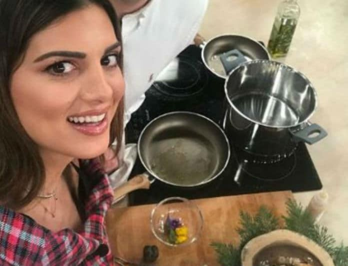 Γίγαντες με χωριάτικο λουκάνικο στο φούρνο από την Σταματίνα Τσιμτσιλή!