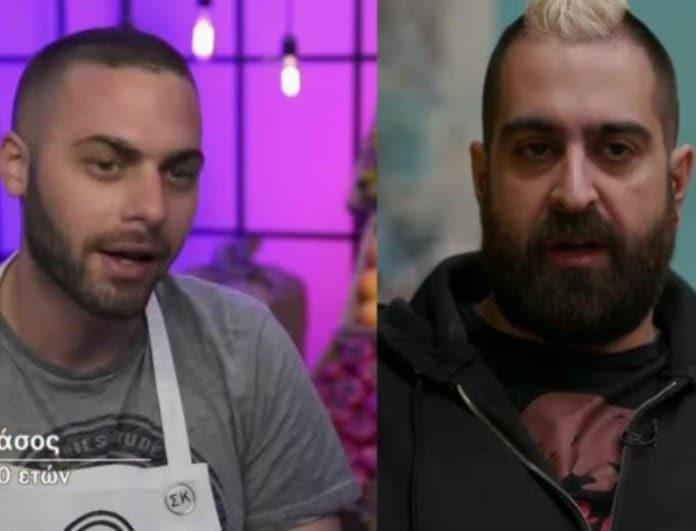 Μaster Chef: «Ψυχροπολεμικό» κλίμα μεταξύ Τάσου και Σταμάτη - «Με πρόδωσε!» (βίντεο)