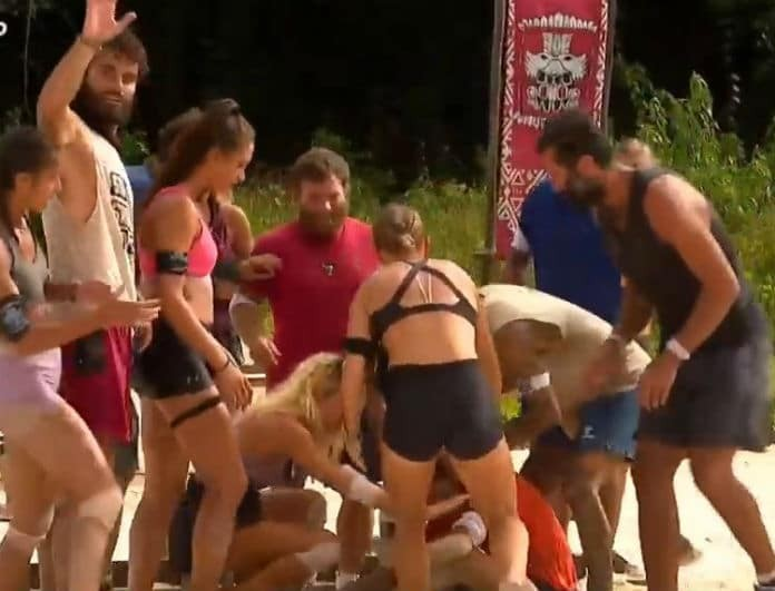 Survivor: Πάγωσαν όλοι στο αγώνισμα! Ο νέος τραυματισμός παίκτη!
