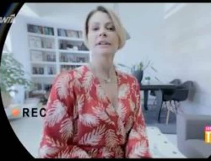 Τζένη Μπαλατσινού: Τα πρώτα πλάνα από την πρεμιέρα της εκπομπής της! (Βίντεο)