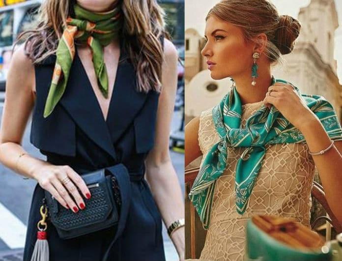 3f29211a1384 Zara  Tο μαντήλι αποτελεί το απόλυτο αξεσουάρ για να αναβαθμίσει το στιλ  σου! Απέκτησέ